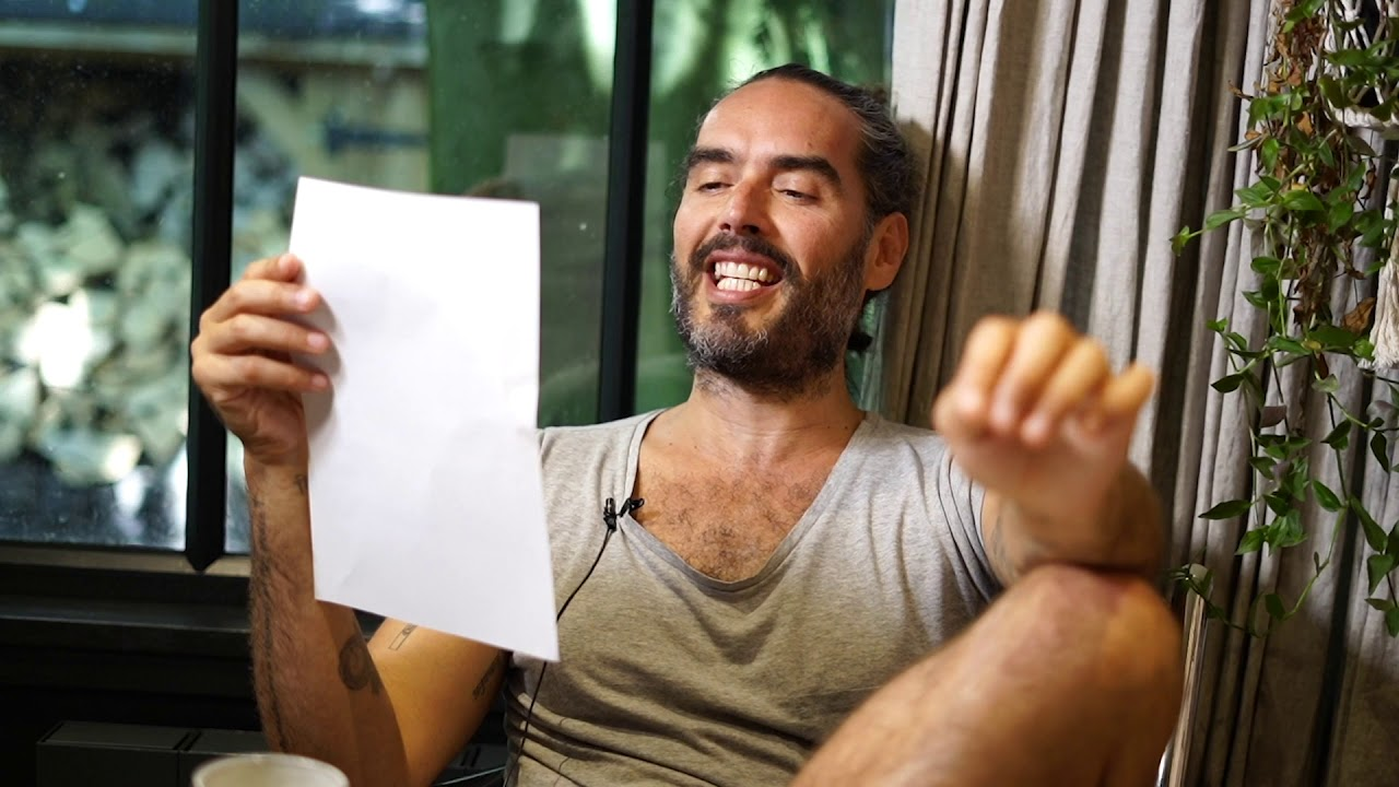 For Those Of You Who Disagree With Me... | Russell Brand