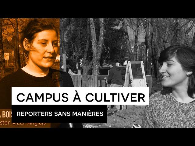Reporters sans manières : Campus à cultiver