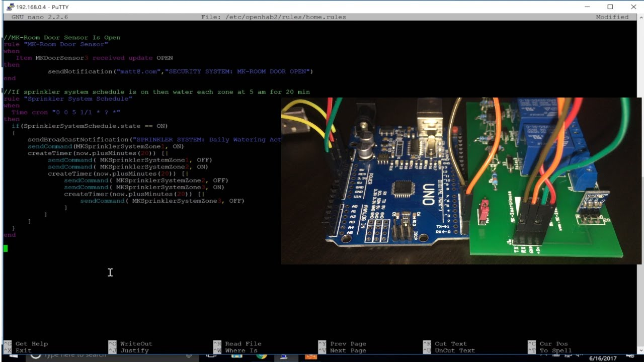 Complete Guide Sprinkler System MQTT OpenHAB ESP8266 : Software (Using  WINDOWS)