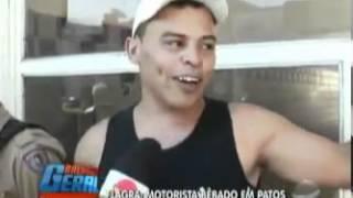 Motorista bêbado - Patos de Minas