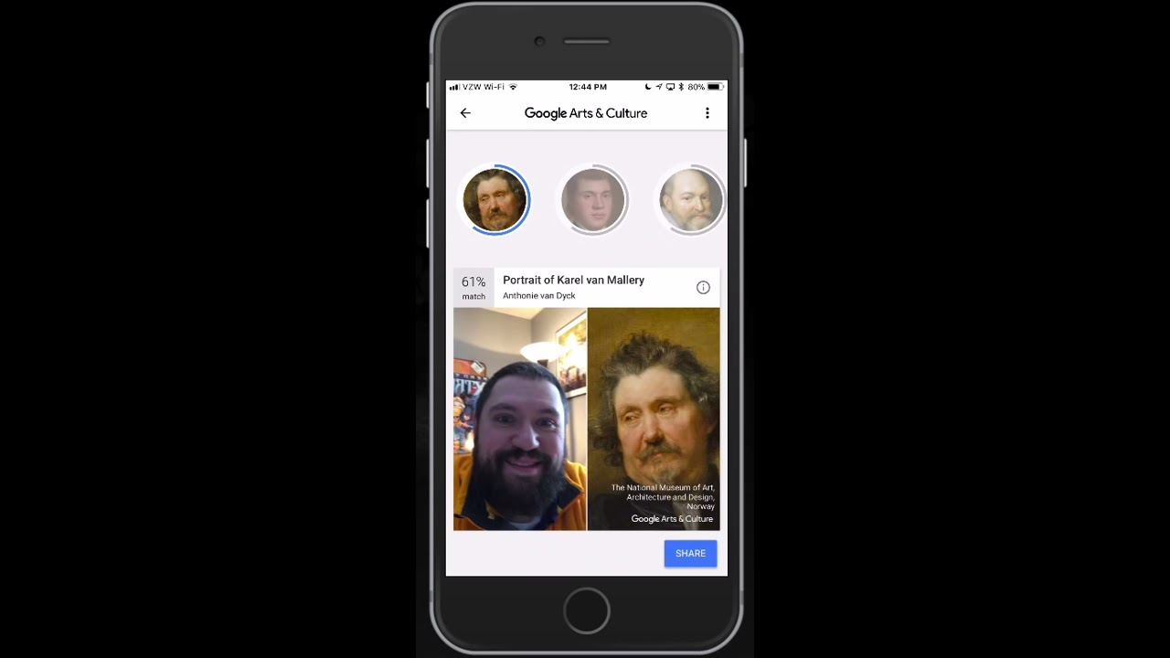 Google Arts Culture Is Your Portrait In A Museum Youtube