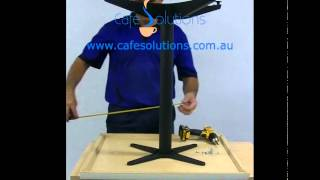 Assembly Video For Attaching A Table Top