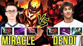 Miracle vs Dendi - TI7 Winner vs TI1 Winner - Shadow Fiend vs Shadow Fiend - EPIC Dota 2
