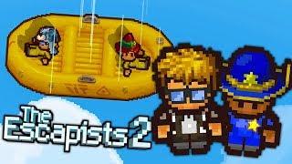 Ucieczka z LECĄCEGO samolotu *nowe więzienie* | THE ESCAPISTS 2 PL #27
