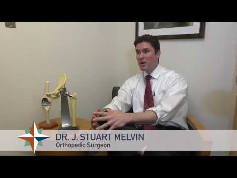 Dr. J. Stuart Melvin explains Anterior Approach to Hip Replacement Surgery