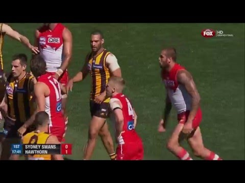 2014 AFL Grand Final - Hawthorn Vs Sydney (K-Rock Commentary)