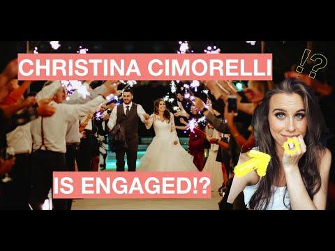 CHRISTINA CIMORELLI IS ENGAGED!?!?!!!!
