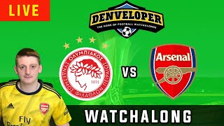 OLYMPIACOS vs ARSENAL - Live Football Watchalong Reaction - Europa League 19/20