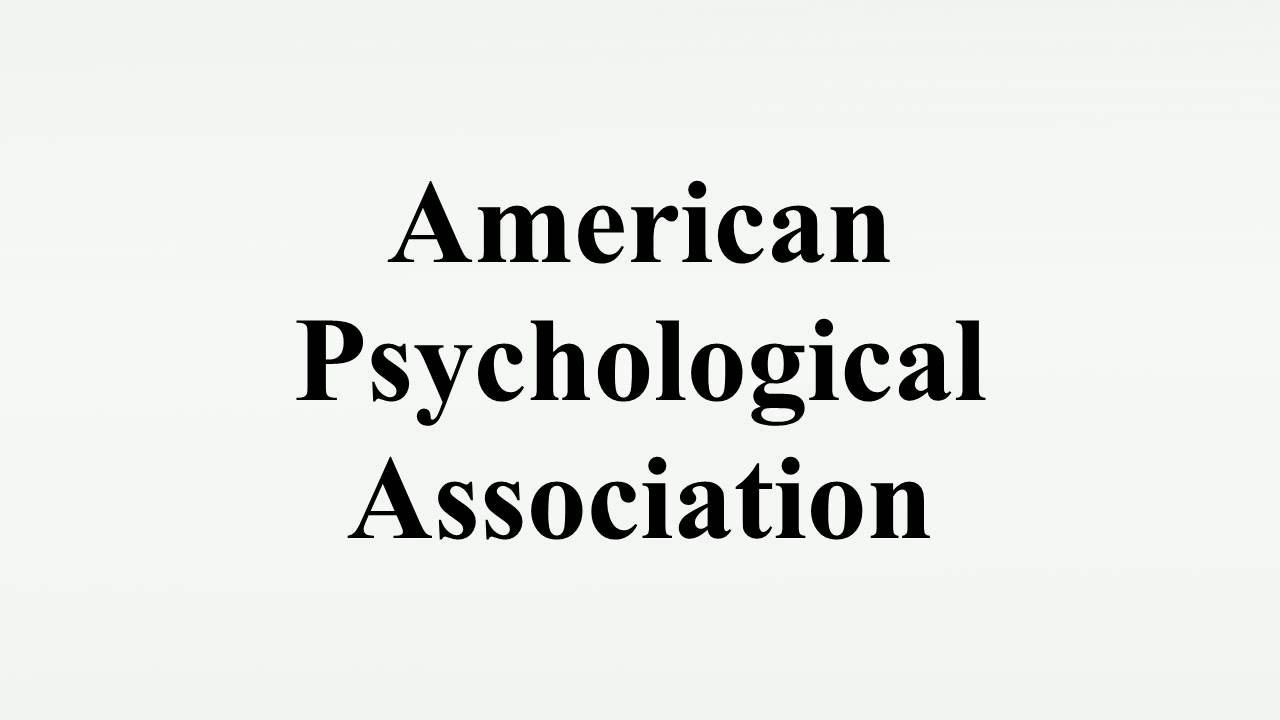 american psychological association the need for A new report disclosed by james risen of the new york times on friday tells in greater detail than ever before the story of how members of the american psychological association colluded with the cia when it came to the application of brutal interrogation techniques the report describes how.