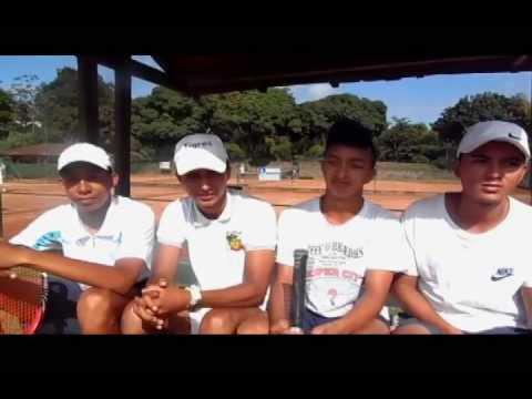 Anderson Steven Vinasco y Jose Wilmar Torres Pereira Recoge bolas de Pereira TFC