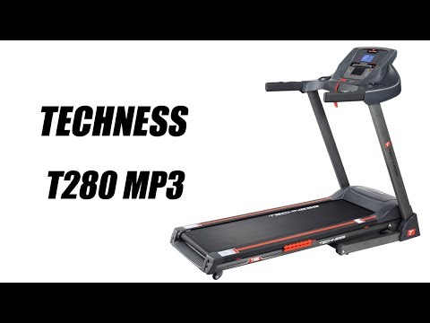Techness T280 Mp3 Tapis De Course Tool Fitness Youtube