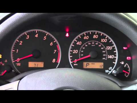 2011 | Toyota | Corolla | Gauges | How To by Toyota City Minneapolis MN