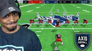 Is AXIS FOOTBALL 18 Better Than MADDEN 19?! Axis Football 18 Xbox One Gameplay