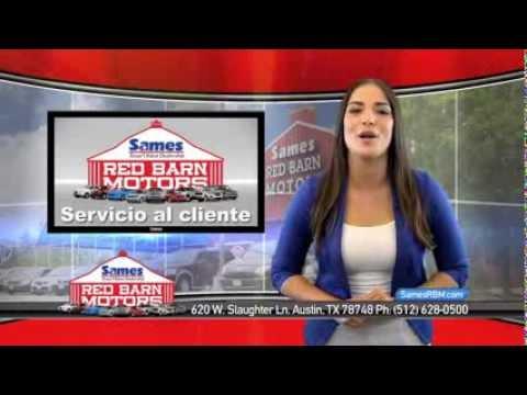 Sames red barn motors commercial spanish youtube for Sames red barn motors