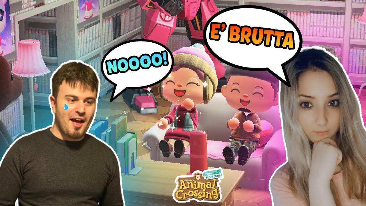 VISITO L'ISOLA DEL MIO RAGAZZO 👩❤️💋👨 su Animal Crossing New Horizons