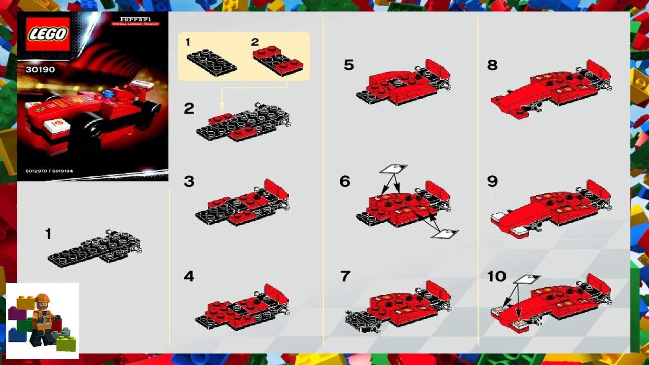 Ferrari Lego Instructions Auto Bild Idee