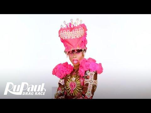Monique Heart's 'Entrance Lewk' Makeup Tutorial 💄   RuPaul's Drag Race All Stars 4