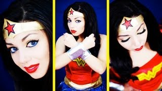 Wonder Woman Makeup Tutorial | Charisma Star