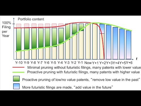 What does a value driven patent portfolio look like?