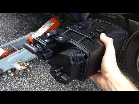 How To Fix P1457 Evap Leak In Canister Area 2002 Acura Tl S Youtube