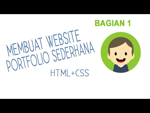 Example`` Creating A Simple Portfolio Website With HTML + CSS #1