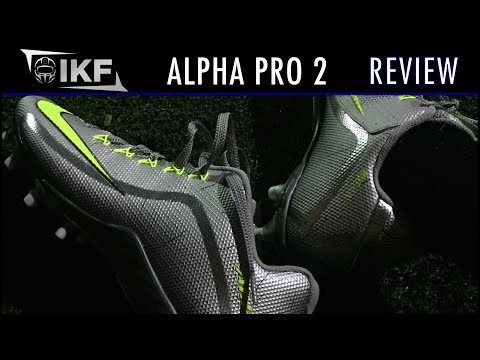 Nike Alpha Pro 2 Football Cleats Review - Ep. 264 360884bae