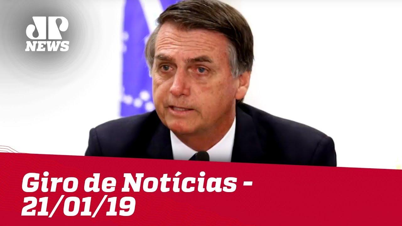 Giro de Notícias - 21/01/2019 - Primeira Edição