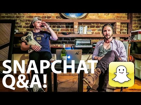 SNAPCHAT Q&A WITH JEREMY LOOPS!