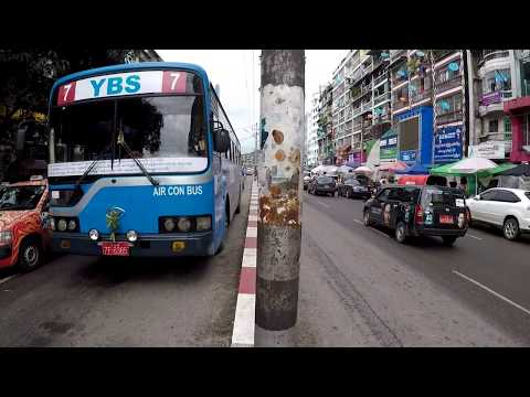 yangon MYANMAR Travel  2017 walk around