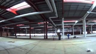 Огнезащита металлоконструкций с использованием огнезащитных красок на органической основе №1(Наша организация в данном видео занимается проведением работ по огнезащите несущих металлических констру..., 2016-01-11T20:29:04.000Z)