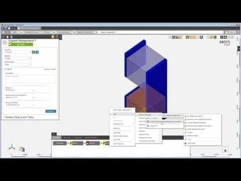 ANSYS AIM: Assigning Materials and Defining Material Properties