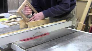Table Saw Spline Miter Jig