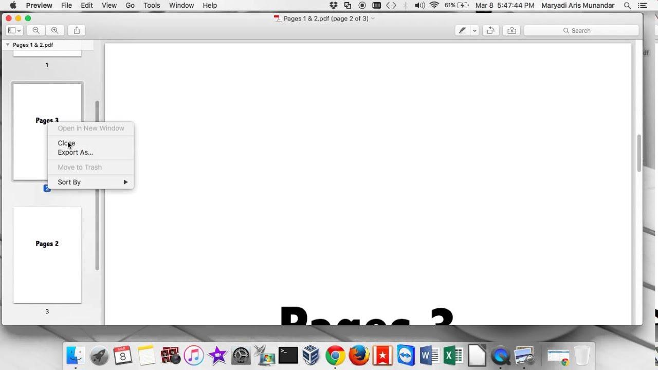 DELETE PDF PAGE PREVIEW MAC EPUB