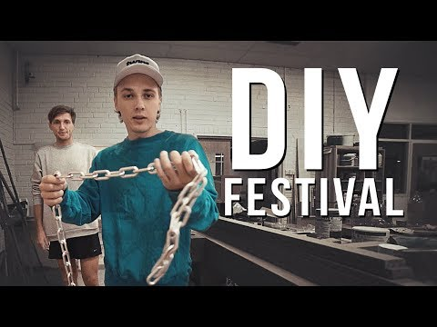 MAKING A HOMEMADE FESTIVAL!   Vlog 10