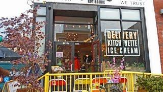 Streetbird -- a new hip restaurant in Harlem on May 31, 2015