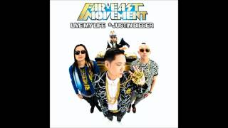 Far East Movement ft. Justin Bieber - Live My Life Karaoke/Instrumental w/ backing vocals and lyrics