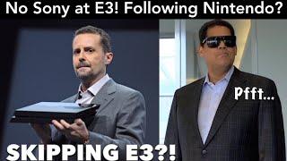 Sony to SKIP E3 2019! Following Nintendo