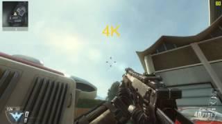 Call of Duty: Black Ops II - 4K vs 1080p Comparison