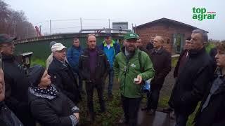 Wycieczka rolników do niemieckich gospodarstw i na Agritechnice