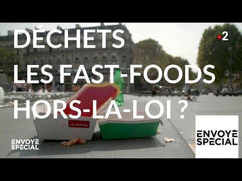 Envoyé spécial. Déchets : les fast-foods hors-la-loi ? - 18 octobre 2018 (France 2)