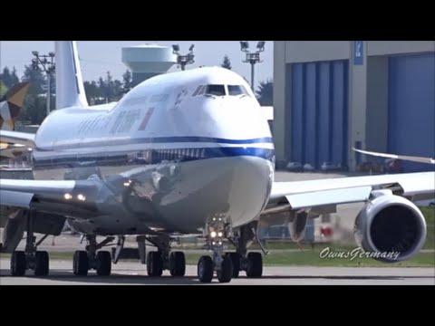 Air China Boeing 747-8i B-2482 Take Off & Loud RAT Landing! @ KPAE Paine Field