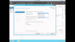 Active Directory (ADDS) Installation & Configuration - Windows Server 2012 thumbnail