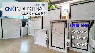 CNK INDUSTRIAL(씨앤케이산업) / 시스템 루…