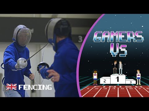The Ultimate Fencing Challenge ft. Gamers Razzbowski and Dawko | Gamers Vs.