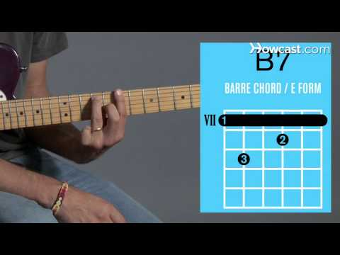 Guitar guitar chords b7 : How to Play a B7 Barre Chord on Guitar | Howcast - The best how-to ...
