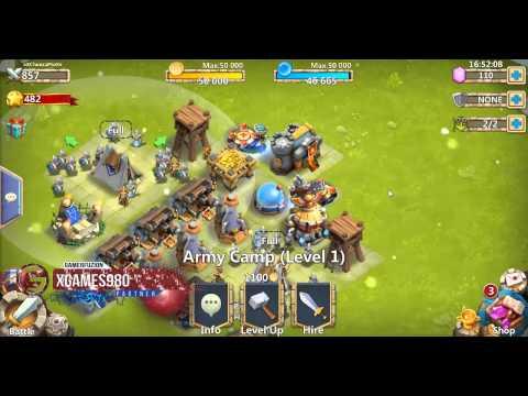 Castle Clash Let's Play! - Those Raids Tho - Ep. 1