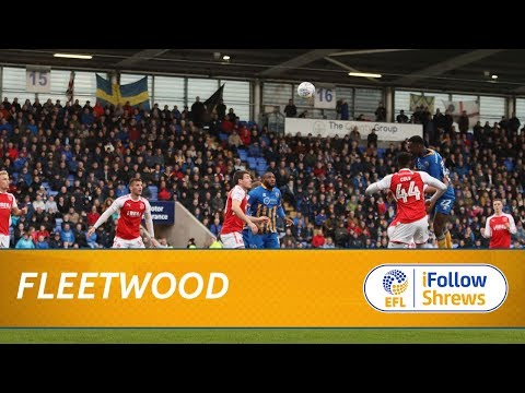HIGHLIGHTS: Town1 Fleetwood 0
