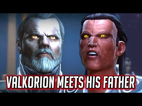 SWTOR Knights of the Eternal Throne ► Valkorion/Tenebre Meets His Father (Lord Dramath) - Chapter 9