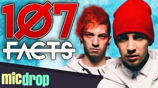 107 Twenty One Pilots Music Facts YOU Should Know (Ep. #46) - MicDrop