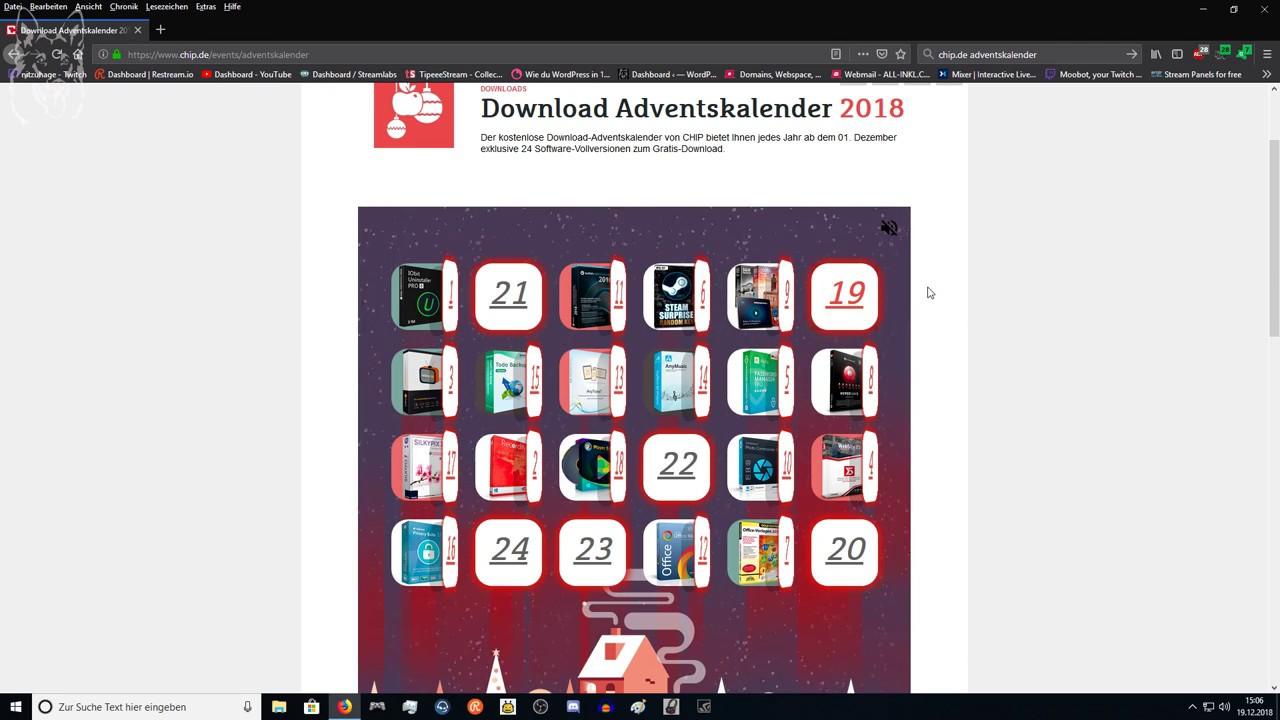 chip adventskalender download